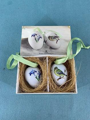 År: 2010 - Iris & Grønirsk Påske æg Royal Copenhagen