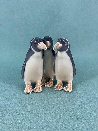 Nr: 1284 - 3 Pingviner Royal Copenhagen RC
