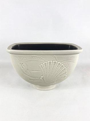 Nr: 1872/1602 - Vase / Skål Aluminia Royal Copenhagen