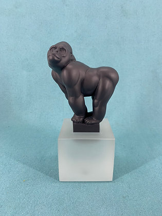 Nr: 1249065 - Abe Sort Gorilla Royal Copenhagen RC