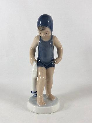 Nr: 4529 - Pige i badedragt, Juli Royal Copenhagen RC