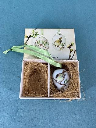 År: 2012 - Fuglekonge Påske æg Royal Copenhagen