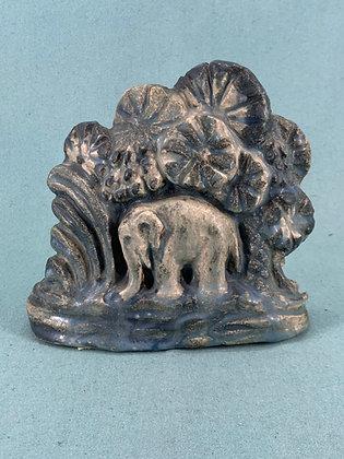 Unika Figur - Elefant med unge Bing og Grøndahl B&G