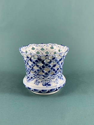 Nr: 1/1015 - Helblonde Vase Royal Copenhagen