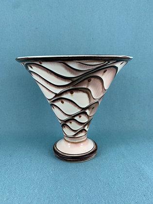 Flot Vase Kähler keramik