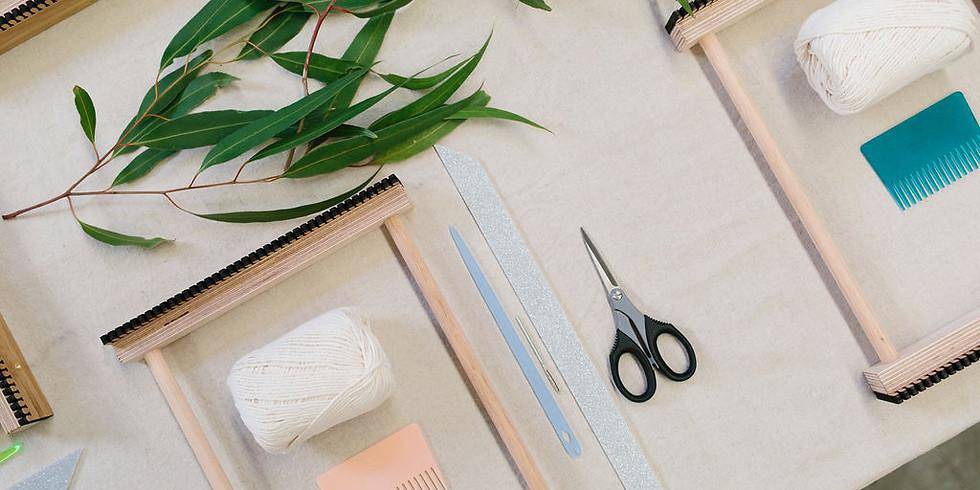 Beginner's Woven Wall Hanging Workshop