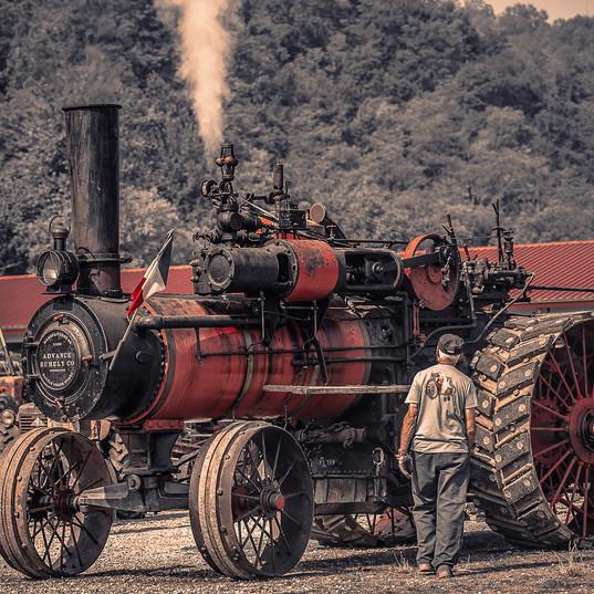 B1 - Marisa Rondello - Antico trattore .