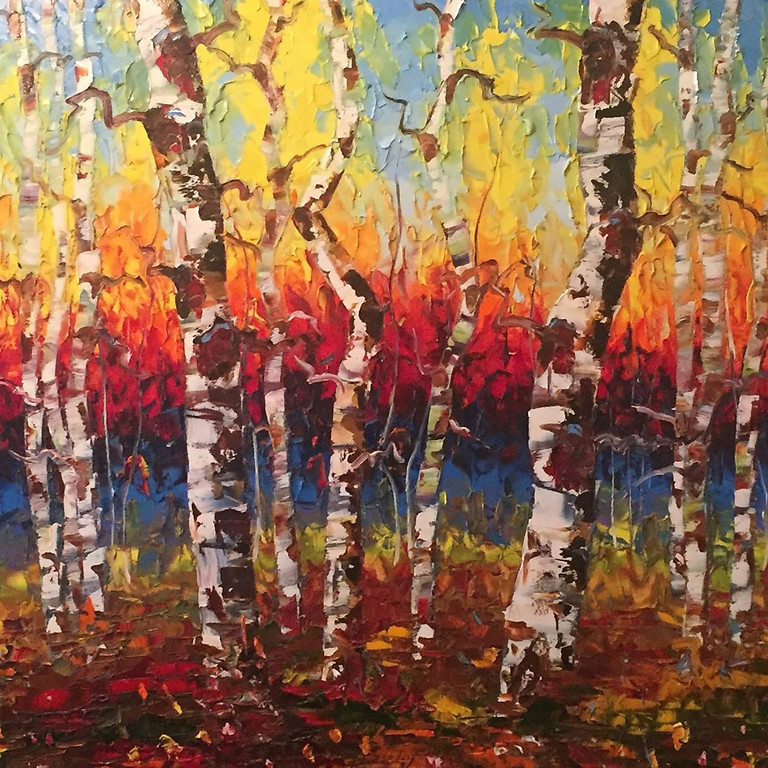 Tim Kenny Live Auction Painting for Pantry Partners