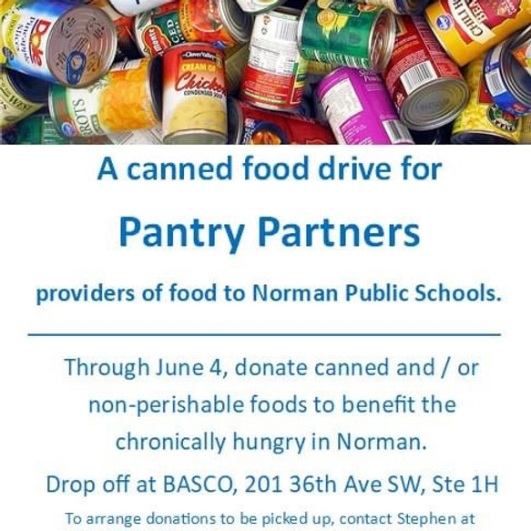 Cans Of Hope Food Drive