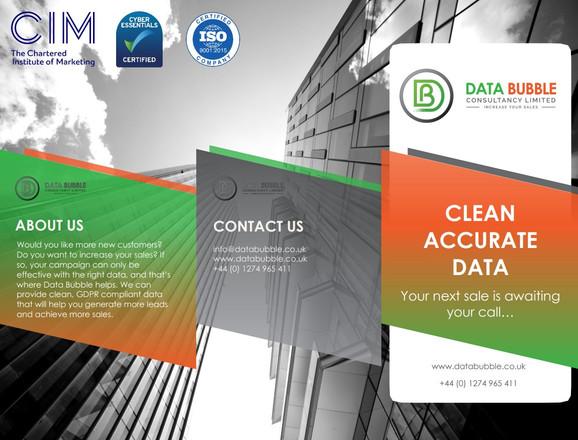 Data Bubble Advertisement