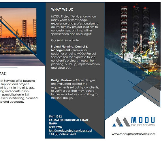 Freedom Link & MODU Project Services