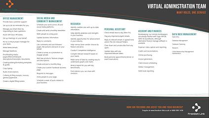 Freedom Link - Virtual Administration