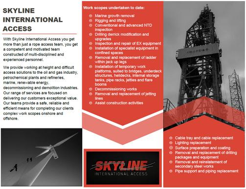 Skyline International Introduction