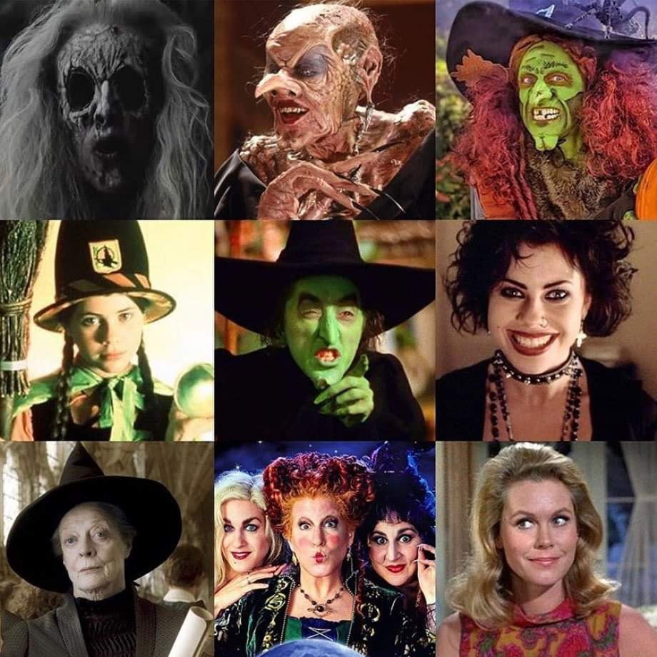 There may be, in my own personal opinion...2, possibly 3 out of this photo that DIDN'T make witches look bad.