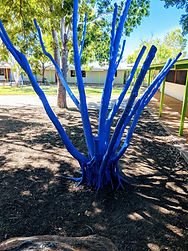 Finished Blue Tree