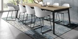 Table VICTORIA / chaises ZORA