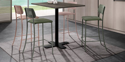 Table SPINNER / tabourets BARMOVIE