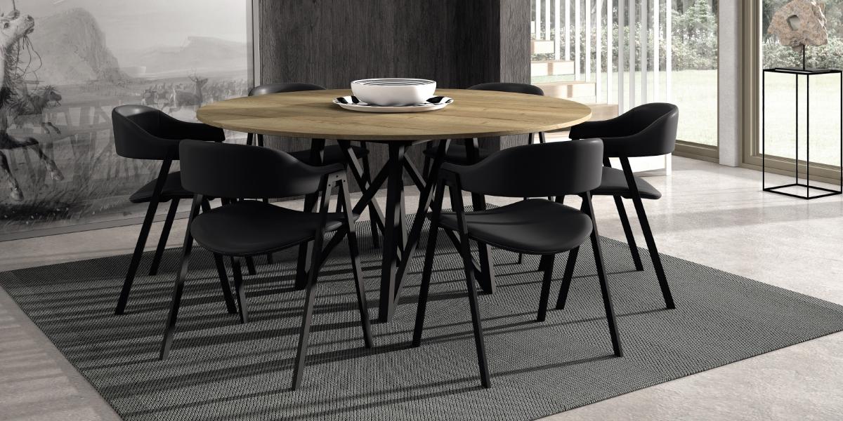 Table WACKO / chaises ARCA
