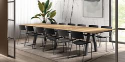 Table VENETO / chaises ZOE