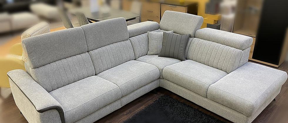 Canapé d'angle - têtières réglables