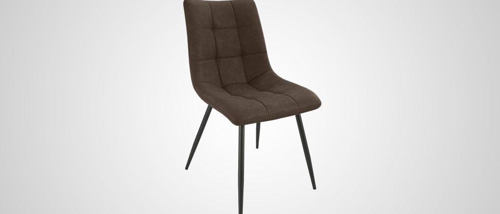 Chaise marron vintage ANGÈLE