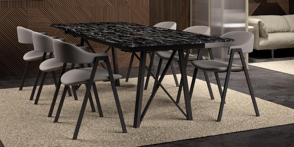 Table WACKO 2.0 / chaises ARCA