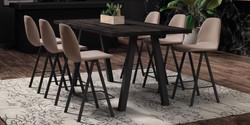 Table QUEEN / tabourets BARONA