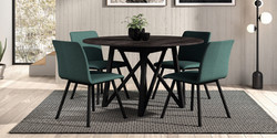 Table WACKO / chaises PISA