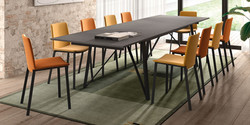 Table WACKO / chaises PRIMERA