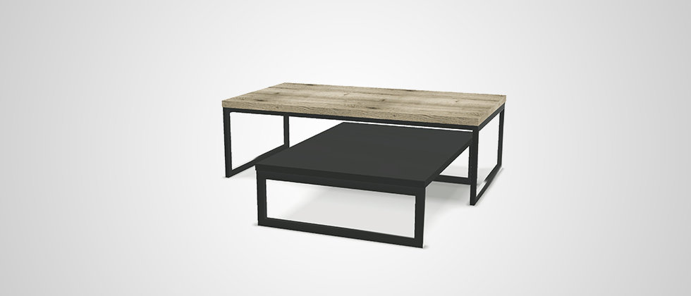 Table basse gigogne URBAN