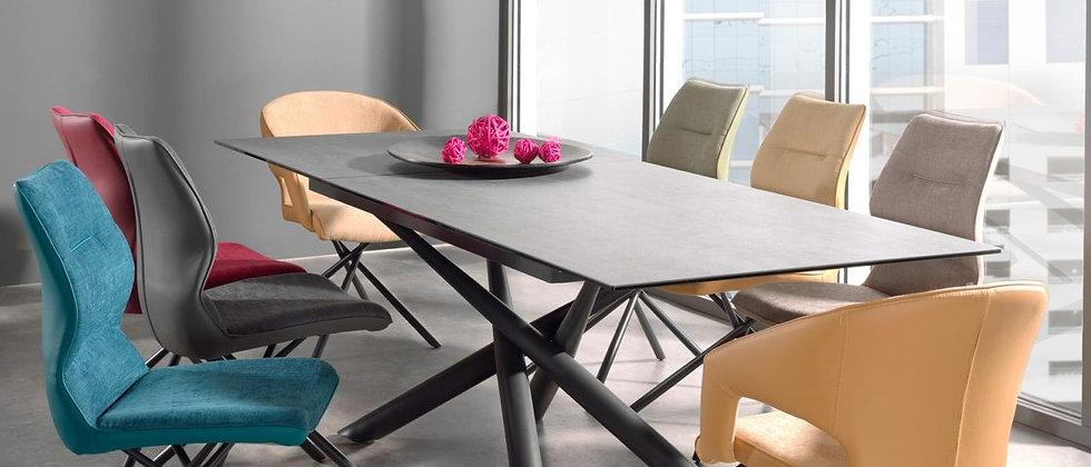 Table céramique avec 2 allonges FORCE A