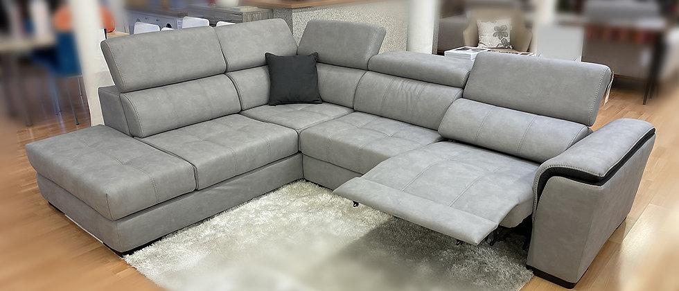 Canapé d'angle 1 relax électrique