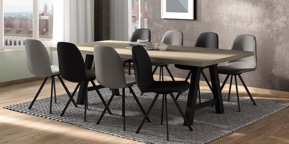 Table QUERIDO / chaises GIRONA