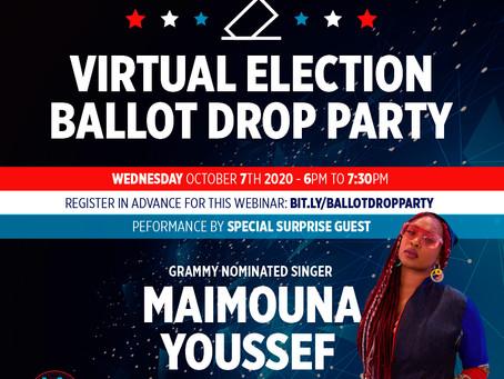 Virtual Election Ballot Drop Party
