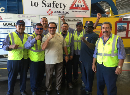 Southern California Teamster Sanitation Workers Demand Hazard Pay