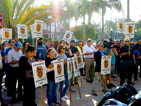 Teamsters Take to the Streets of Beverly Hills