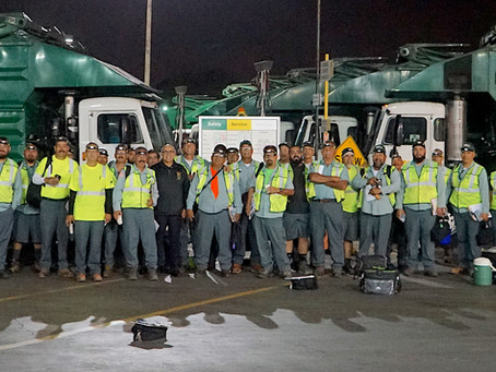 Waste Management Orange County Workers Ratify Groundbreaking Union Contract
