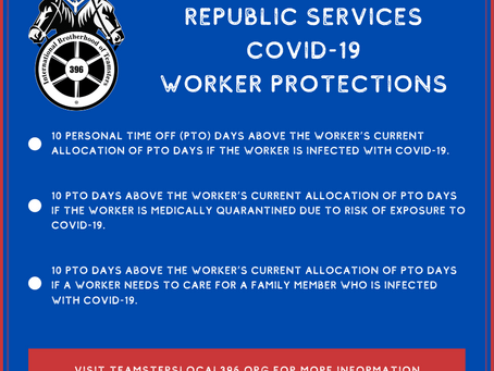 Republic Services COVID-19 Worker Protections
