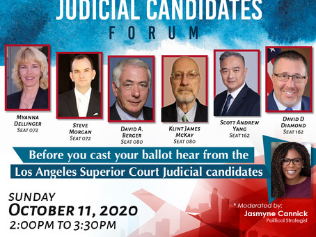 Los Angeles African American Women's PAC Presents A Judicial Candidates Forum