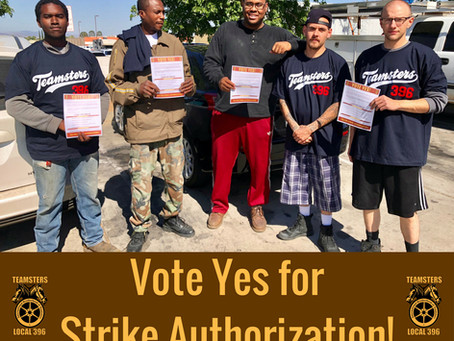Vote YES for Strike Authorization at UPS