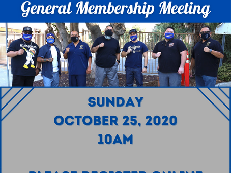 TEAMSTERS LOCAL 396 ONLINE OCTOBER GENERAL MEMBERSHIP MEETING