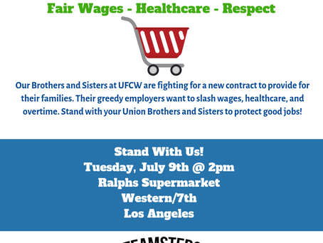 Support Grocery Workers In The UFCW