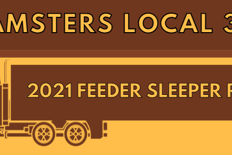 2021 Teamsters Local 396 UPS Feeder Sleeper Runs