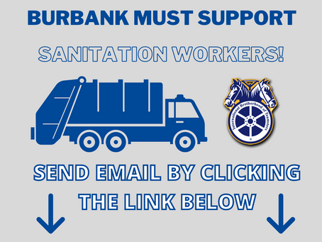 Burbank Must Support Sanitation Workers
