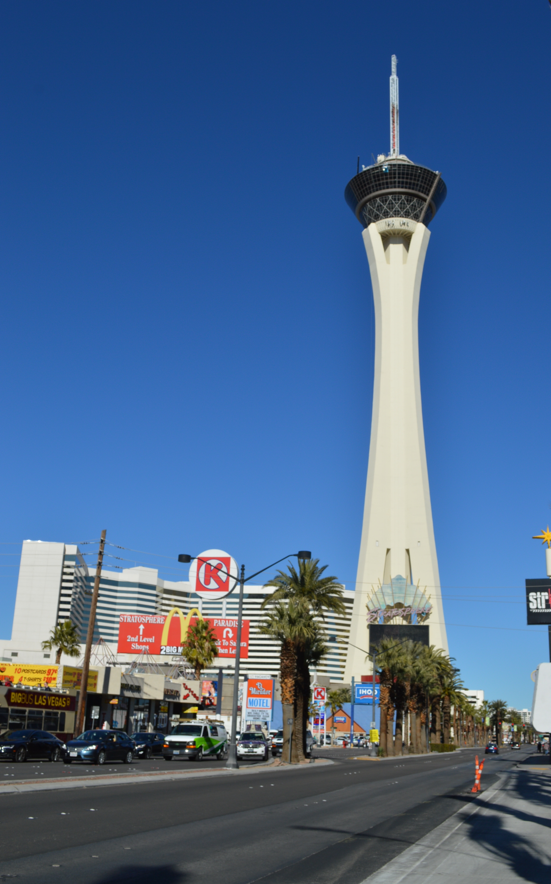 Stratosphere Tower ストラトスフィアタワー展望台