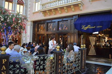 ラスベガス イタリアンレストラン情報 ゼッフェリーノ リストランテ ベネチアン