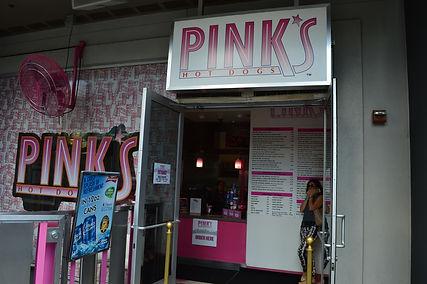 ラスベガス B級グルメ情報 ピンクスホットドッグ プランネットハリウッド