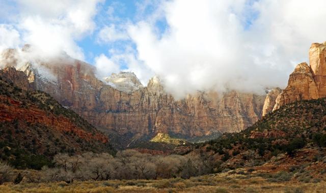 Zion ザイオン国立公園
