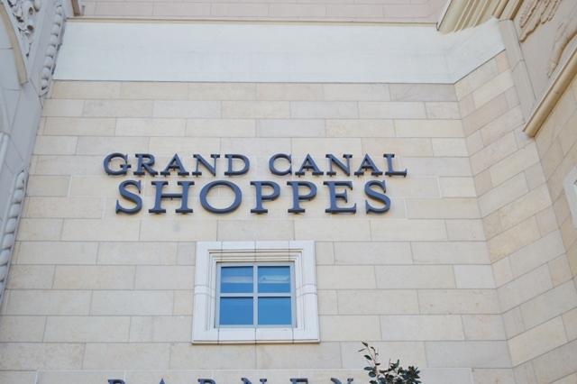 Grand Canal Shoppes グランドキャナルショップス