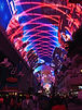 ラスベガス オプショナルツアー イルミネーションナイトツアー フリーモントストリートエクスペリエンス&ストラトスフィアタワー